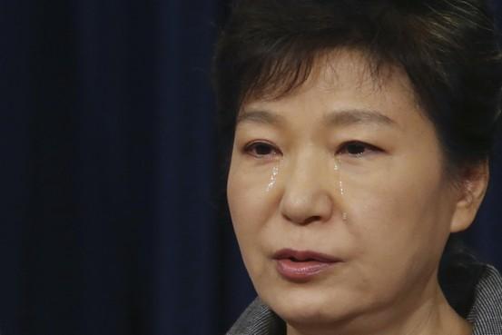 朴槿恵大統領謝罪