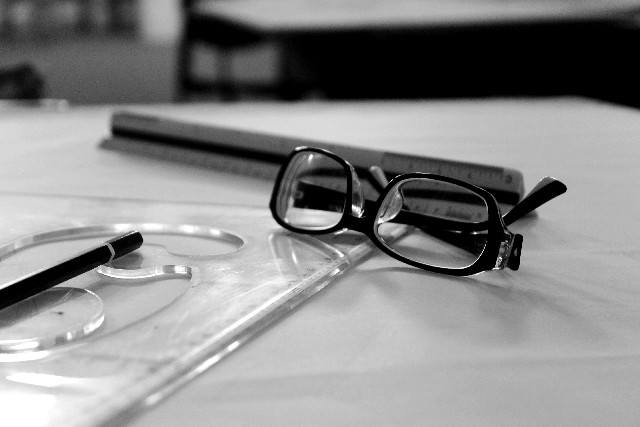眼鏡と文具